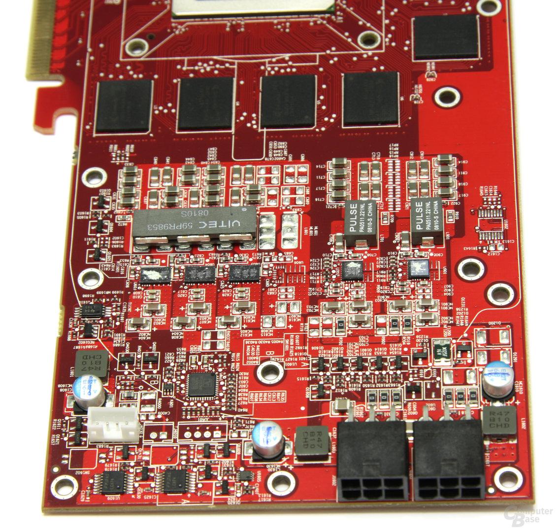 PowerColor Radeon HD 4870 Spannungswandler