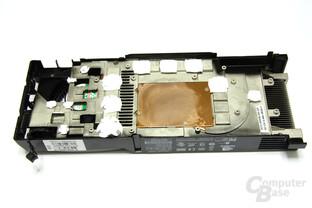 GeForce GTX 260 Kühlerrückseite