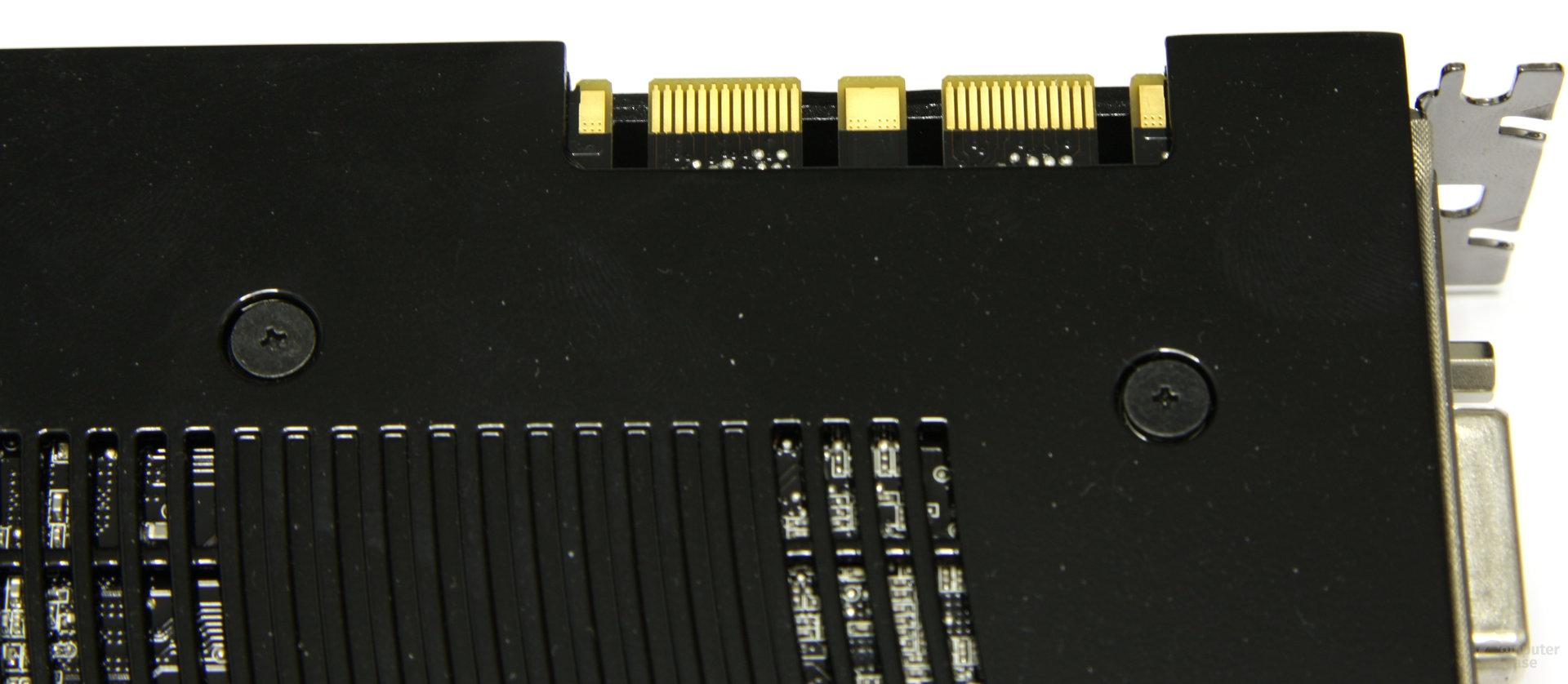 GeForce GTX 260 SLI-Anschluss
