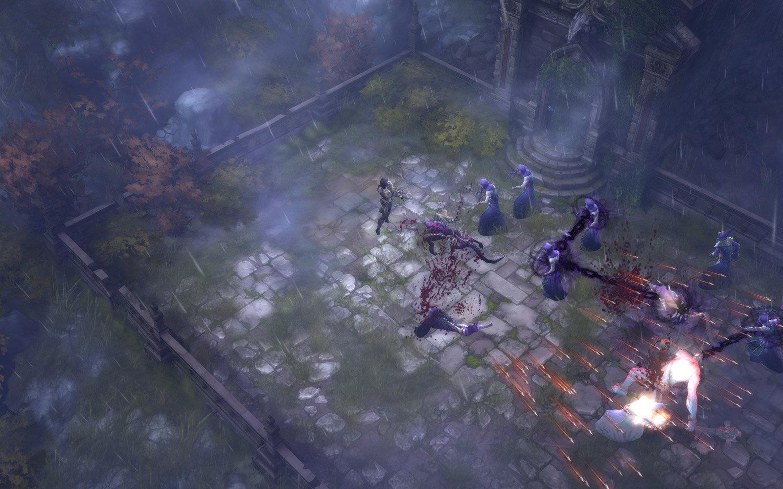 Diablo 3 - Dämonenjägerin Oktober 2010