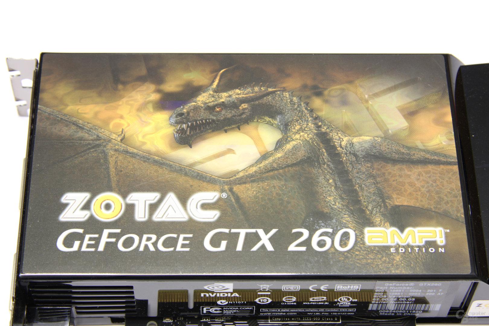 GeForce GTX 260 AMP! Logo