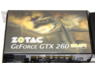 GeForce GTX 260 AMP! Logo