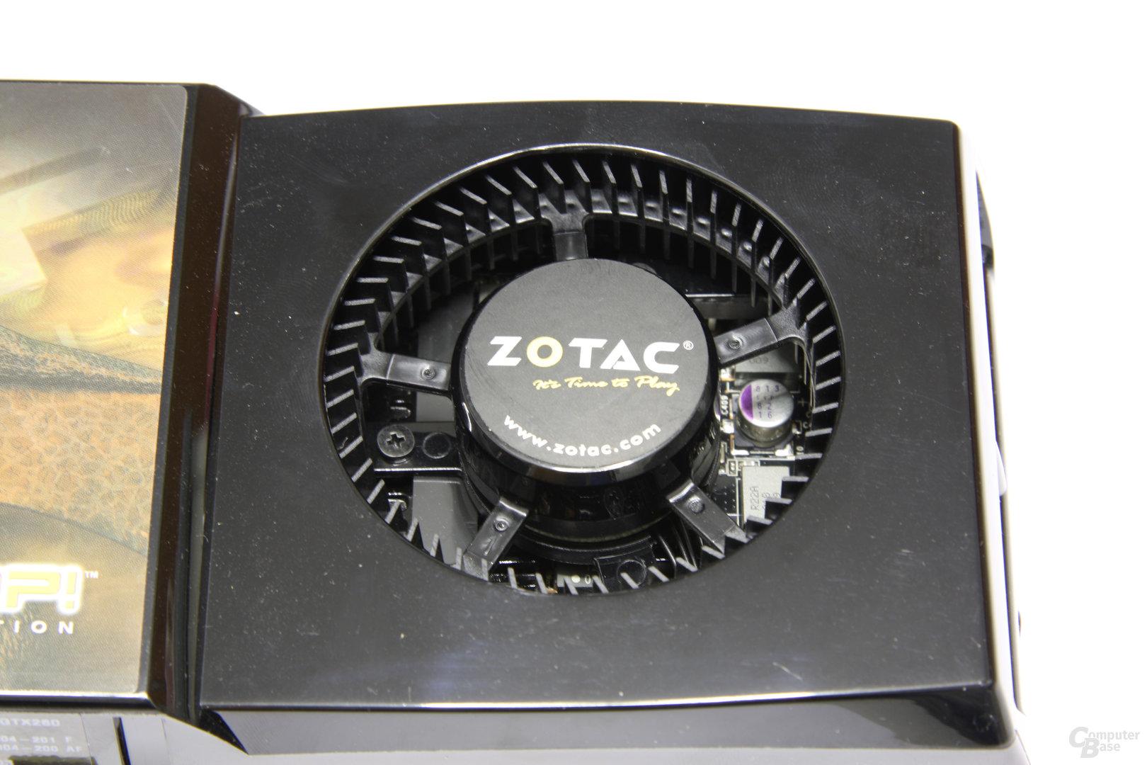 GeForce GTX 260 AMP! Lüfter
