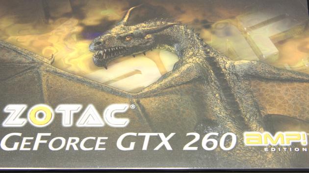 GTX 260 AMP! im Test: Zotac nimmt das Referenzdesign und erhöht die Taktraten
