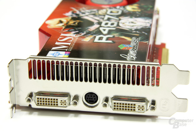 Radeon HD 4870 OC Slotblech