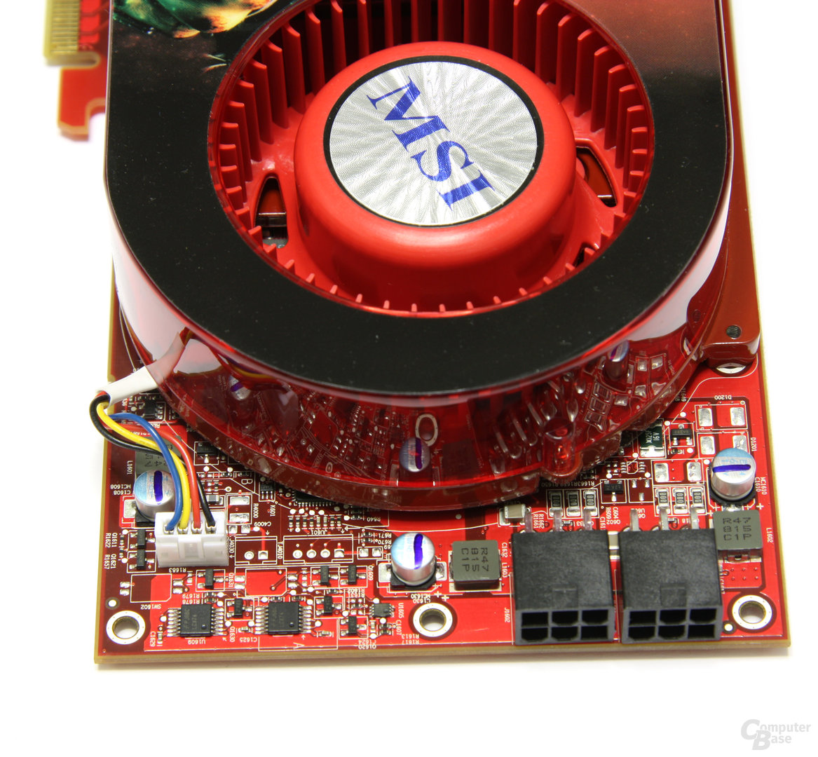 Radeon HD 4870 OC Spannungswandler