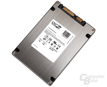 "OCZ Core Series SATA II 2,5"" SSD (Rückseite)"