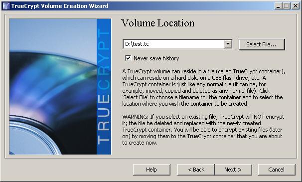 TrueCrypt 6.0