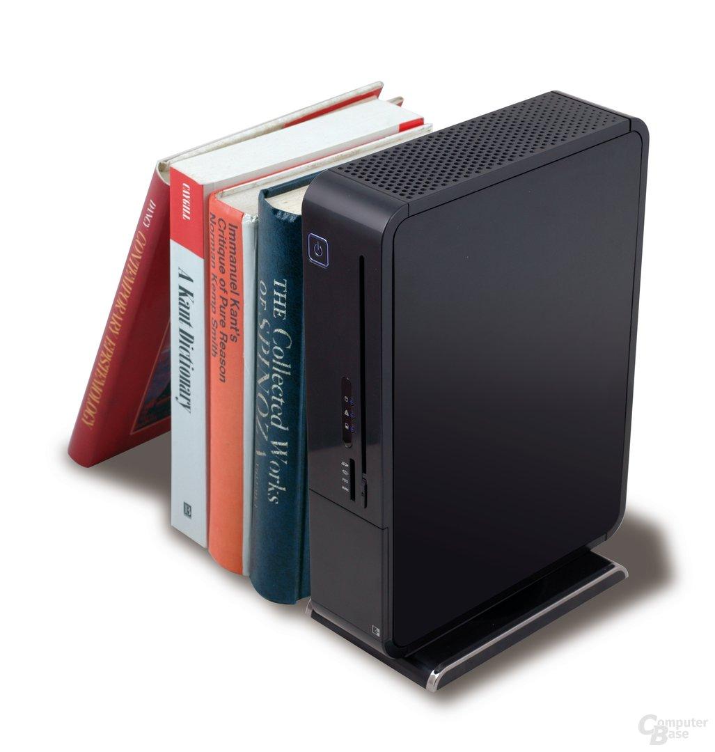 Nettop '08 (exemplarisch: 3-Liter-PC von ECS)