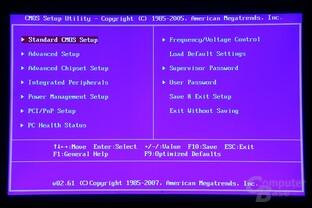 BIOS (CMOS Setup Utility)