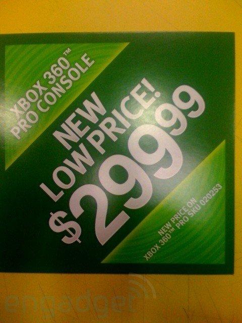 Werbeplakate für Preissenkung
