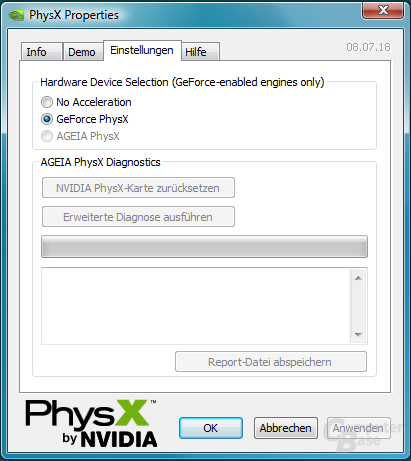 GeForce PhysX