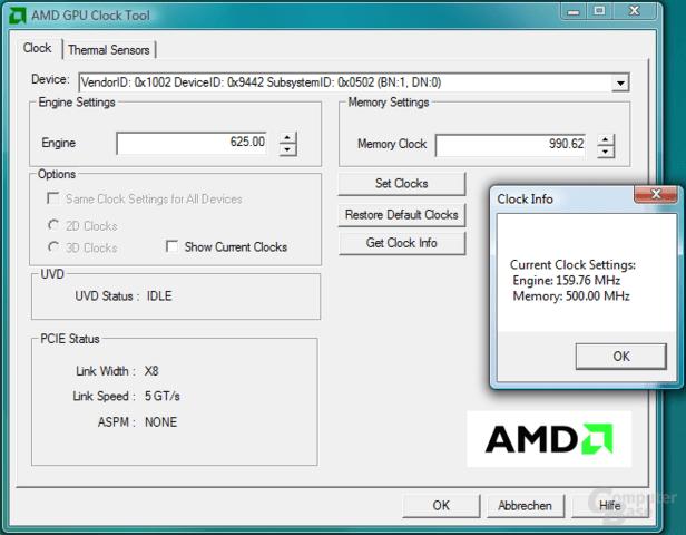AMD GPU Clock Tool