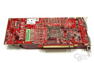 Radeon HD 4870 TOP Rückseite