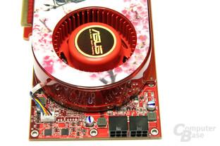Radeon HD 4870 TOP Spannungswandler