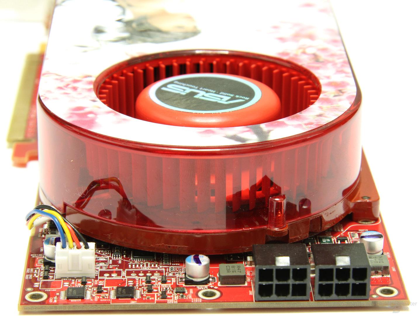 Radeon HD 4870 TOP von hinten