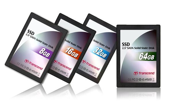 Solid State Disks von Transcend