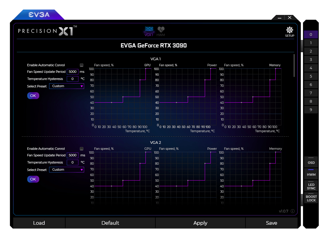 EVGA Precision X1 für GeForce RTX