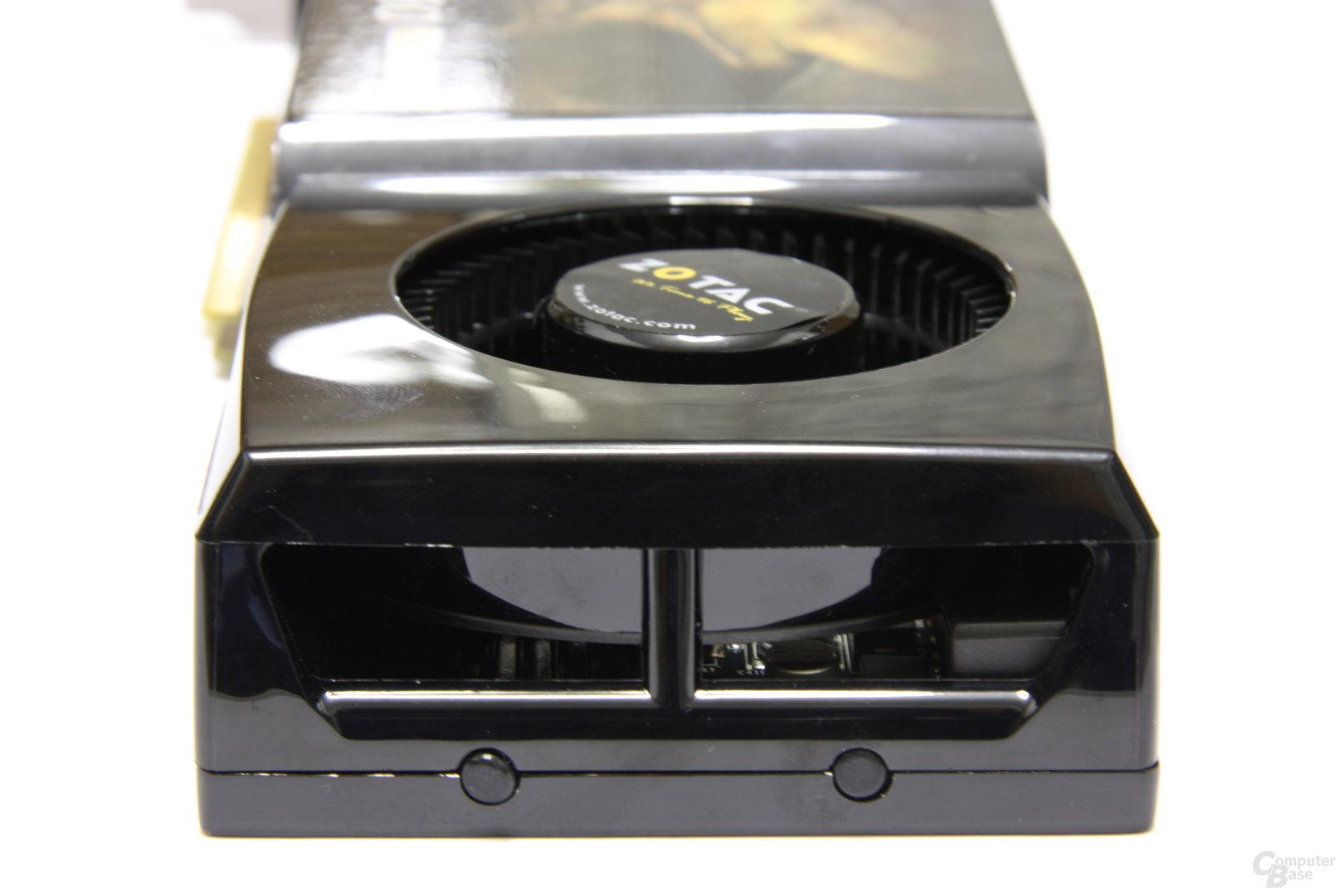 GeForce GTX 280 AMP! von hinten