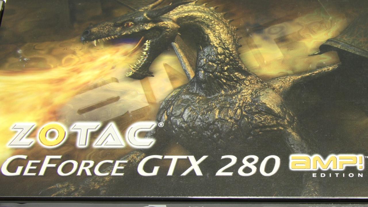 GeForce GTX 280 im Test: Zotacs AMP!-Flaggschiff ist nur ein lauer Aufguss