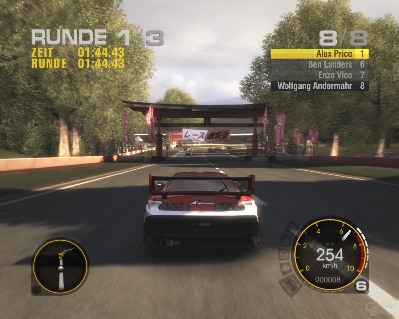 Race Driver Grid – Okutama