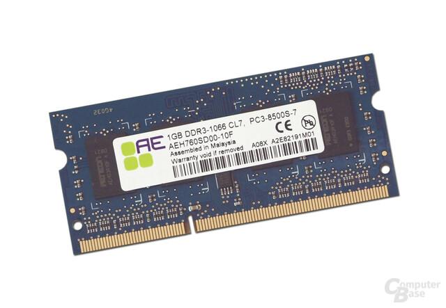 Aeneon DDR3 SODIMM