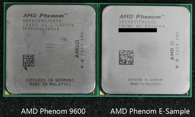 Leistungsaufnahme der 45- vs. 65-nm-CPU