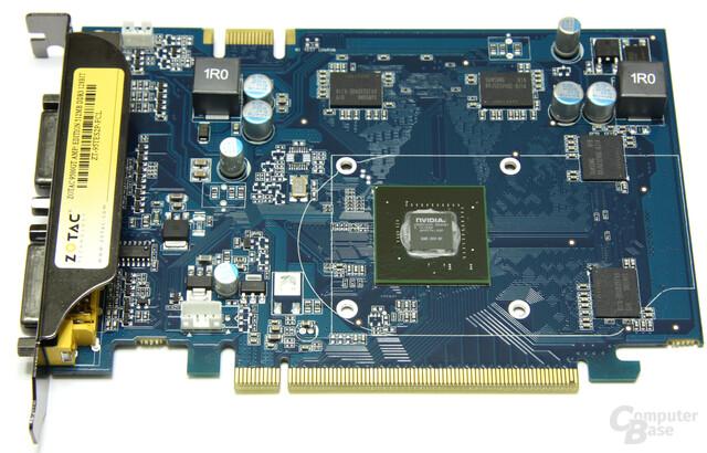 GeForce 9500 GT AMP! ohne Kühler