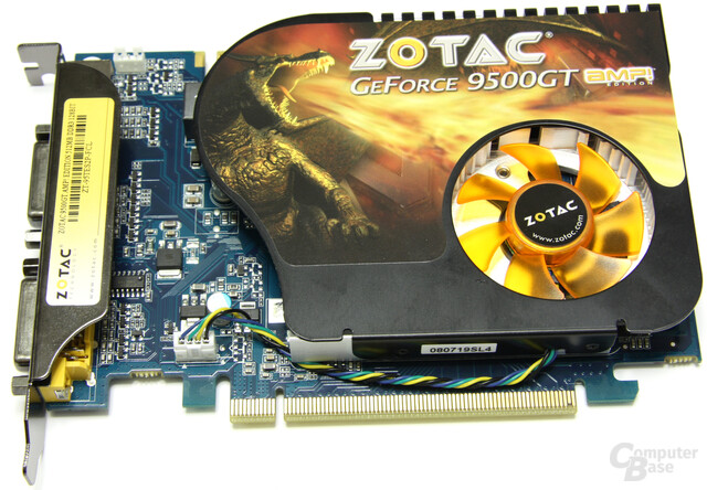 Zotac GeForce 9500 GT AMP!