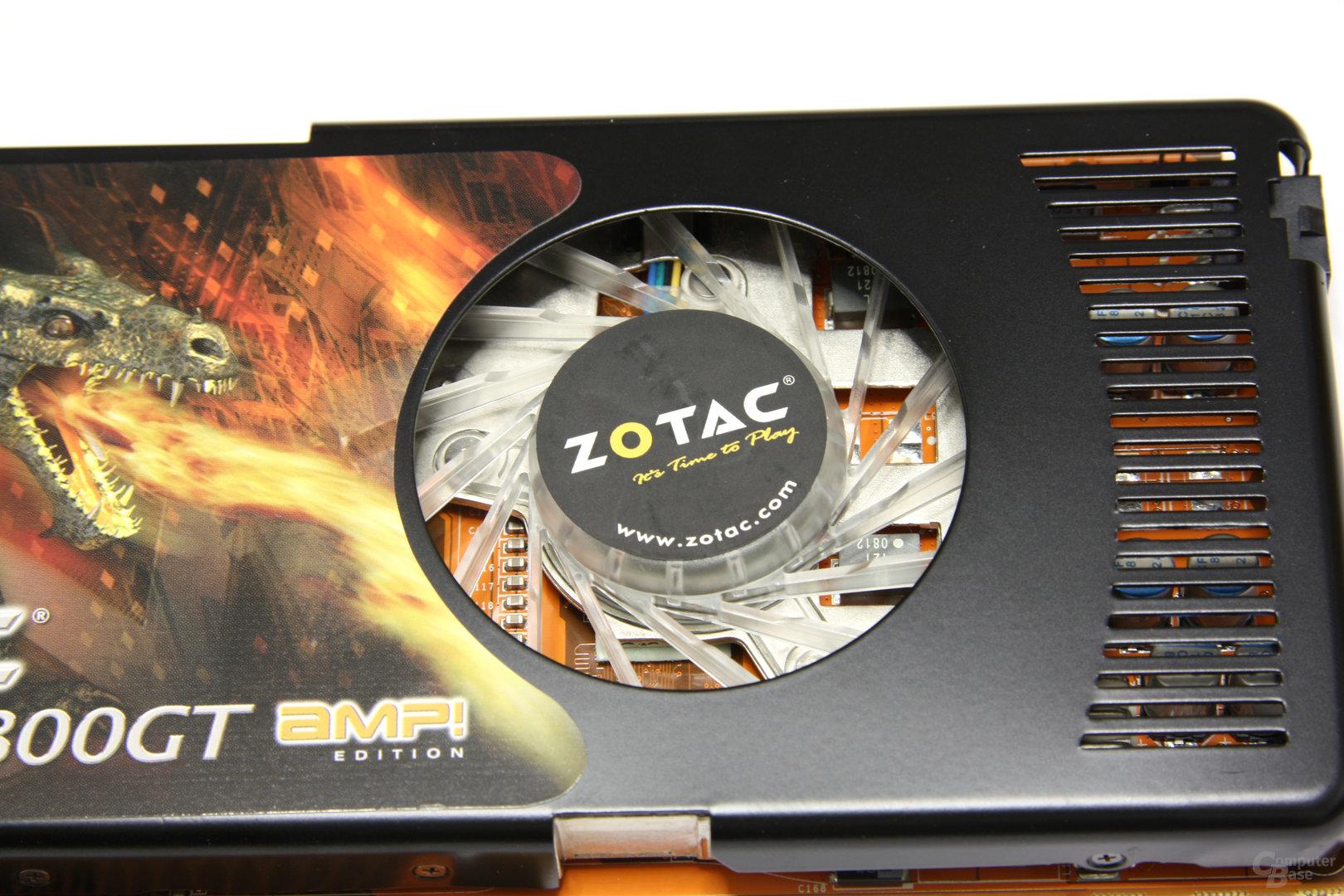 GeForce 9800 GT AMP! Lüfter