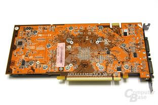 GeForce 9800 GT AMP! Rückseite