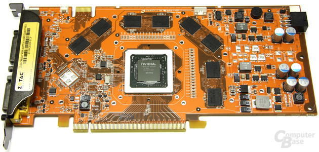 GeForce 9800 GT AMP! ohne Kühler
