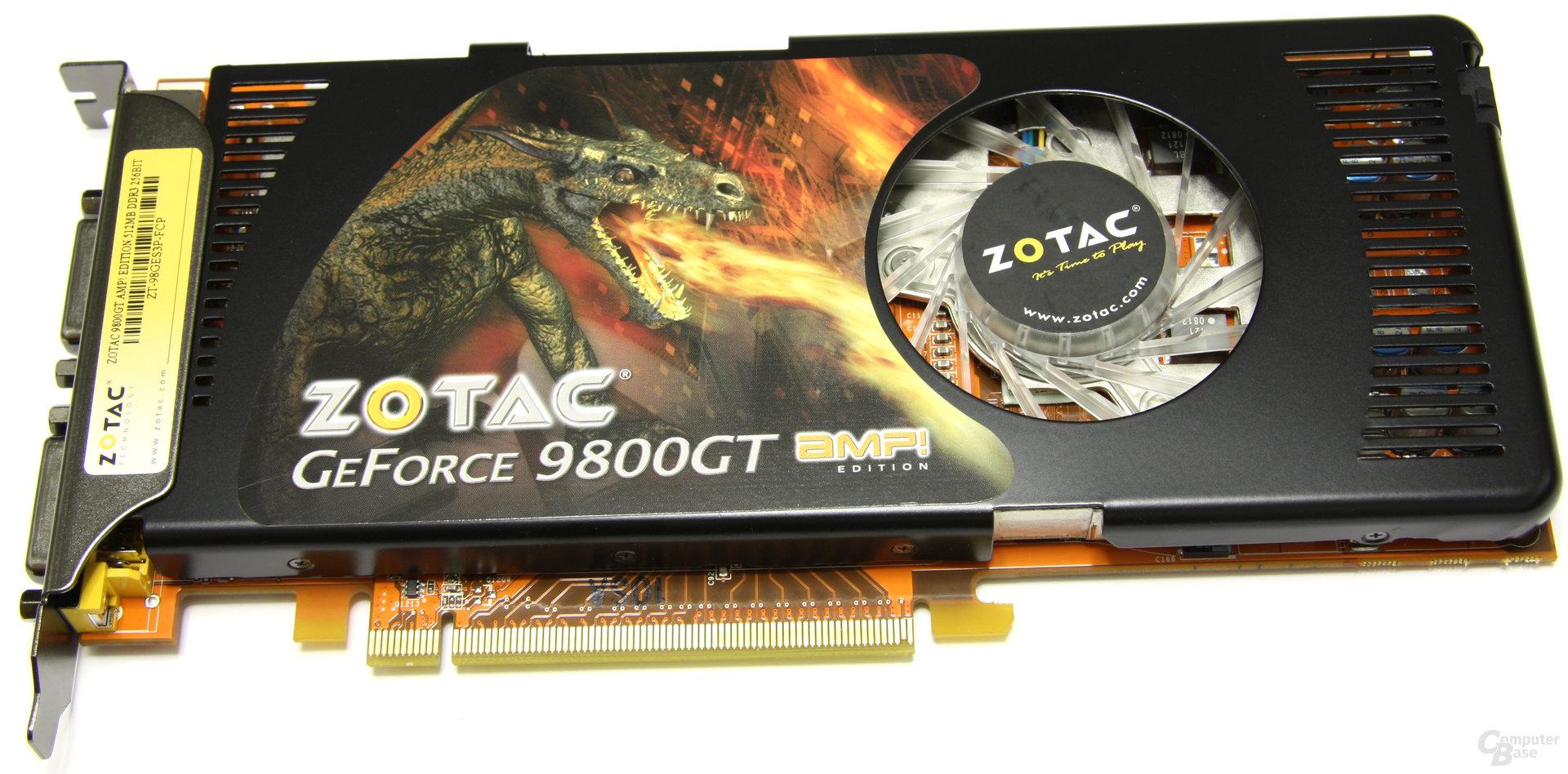 Zotac GeForce 9800 GT AMP!