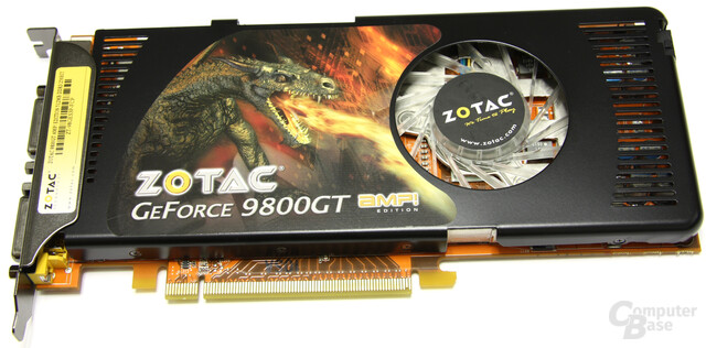 Zotac GeForce 9800 GT AMP!