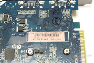 GeForce 9500 GT AMP! Aufkleber