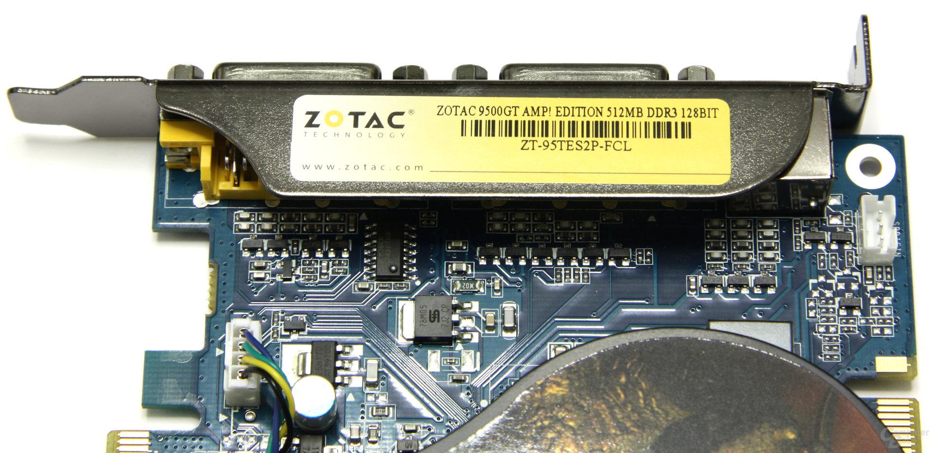 GeForce 9500 GT AMP! Bezeichnung