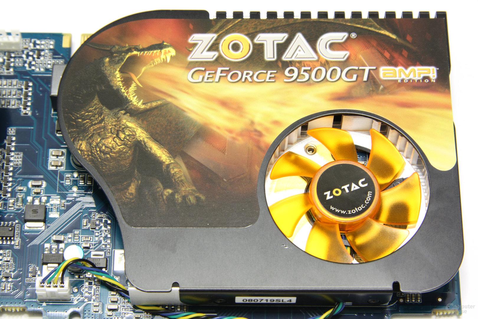 GeForce 9500 GT AMP! Kühlsystem