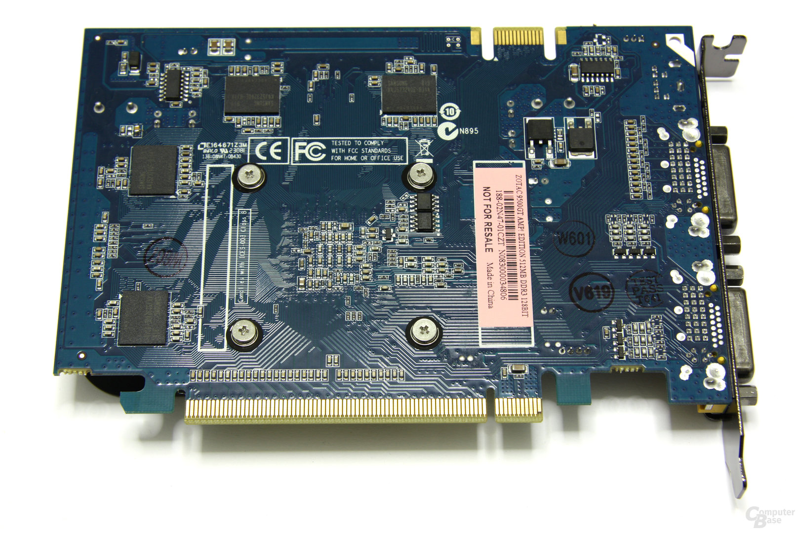 GeForce 9500 GT AMP! Rückseite