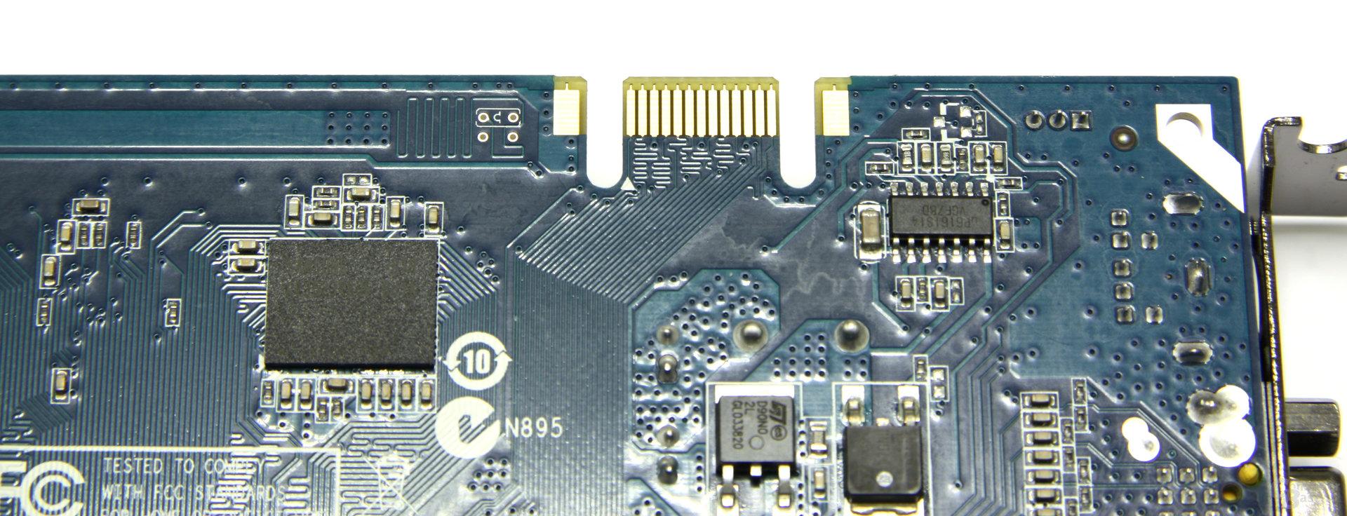 GeForce 9500 GT AMP! SLI-Anschluss