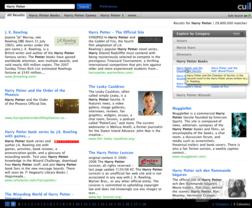 Darstellung der Suchergebnisse
