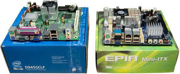 Intel Atom 230 vs. VIA Nano L2100