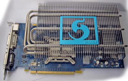 GeForce 9800 GT von Sparkle | Quelle: Fudzilla
