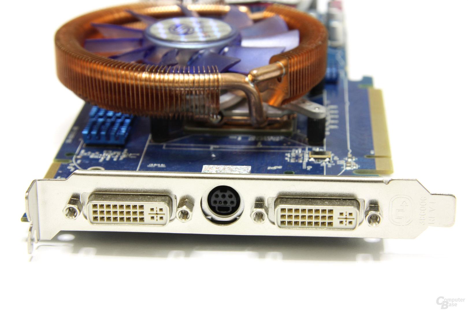 Radeon HD 4850 Toxic Slotblech
