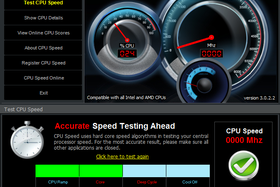Test CPU Speed