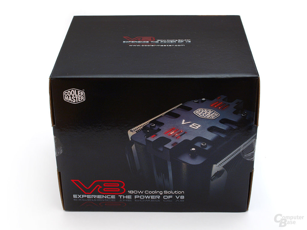 Cooler Master V8 Verpackung