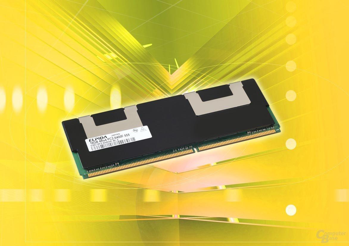 16GB FB-DIMM von Elpida