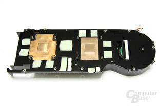 Radeon HD 4870 X2 Kühlerrückseite