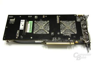 Radeon HD 4870 X2 Rückseite