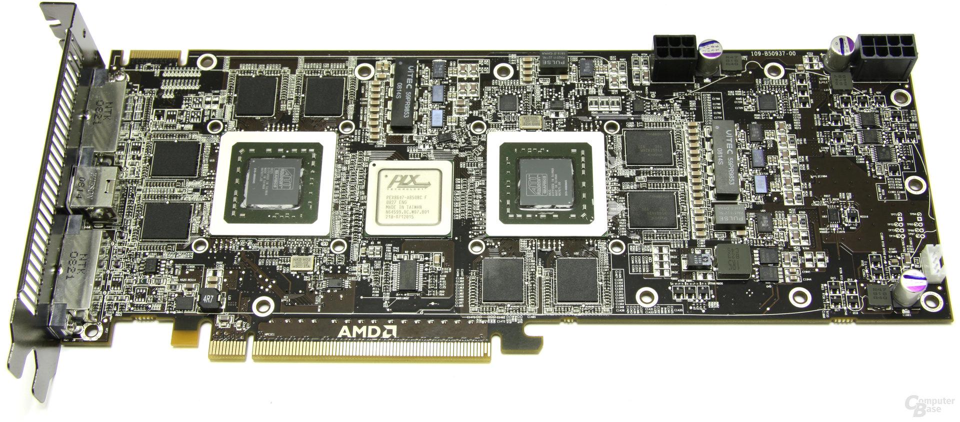 Radeon HD 4870 X2 ohne Kühler