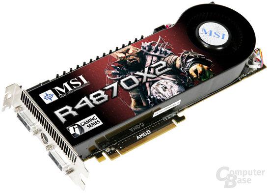 MSI Radeon HD 4870 X2